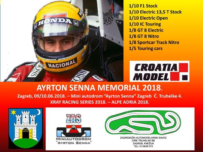09.-10.06.2018. – Ayrton Senna memorial 2018.