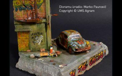 Izrada nagrađene diorame pod nazivom In the Ghetto