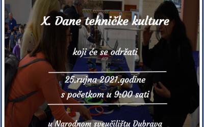 X. DANI TEHNIČKE KULTURE